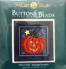 "Mill Hill point de croix perles Kit automne ""Midnight Pumpkin"" 14-3206"