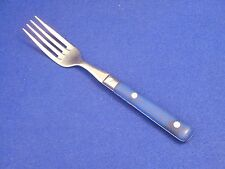 Studio Nova Stainless Silverware - CAFE / BLUE - Salad Fork