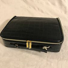 Estee Lauder Make up Traveling Case/Bag Navy Blue NWOT