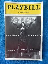 Gypsy - St. James Theatre Playbill - January 1990 - Tyne Daly - Jonathan Hadary