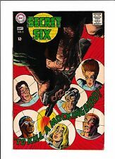 "SECRET SIX #3  [1968 VG-FN]  ""TO KILL A MOCKINGBIRD!"""