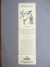 BOOKMARK Vintage GLENFIDDICH Scotch Whisky MACMILLAN Advertising Promo 1987