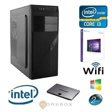 WORK PROGRESS I3 8G WIN10 PC DESKTOP I3-4160 RAM 8GB RAM 1TB VGA WIFI 3,60GHZ