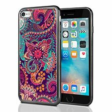 Paisley Flower Print For Iphone 7 Case Cover By Atomic Market