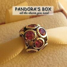 1 Authentic Pandora Charm 791153 CZS Pink Whimsical Light  Sterling Silver Bead