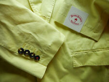 Brooks Brothers Red Fleece Yellow Garment Washed Cotton Blazer 38R ~ $398 NWT