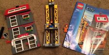 Lego City Construction Site (7633) **RARE** w/Manuals & Minifigs (book1&3 only)