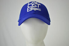 BRAND NEW AUTHENTIC LACOSTE TRUCKER CAP HAT ONE SIZE ADJUSTABLE BACK BLUE COLOR
