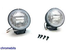 White Bull Nudge Bar Grille Roof Rail Front Fog Lights Lamps 12V Car Van SUV 4x4