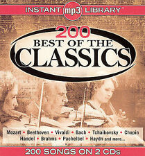 Best of the Classics 2005 by Instant MP3 Library