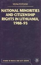 Studies in Russia and East Europe: National Minorities and Citizenship Rights...