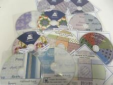 WHOLESALE JOBLOT *NEW* 10 x CRAFT CD ROMS all OCCASIONS/CARD MAKING/Christmas