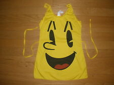 WOMENS 1PC SUPER SEXY SMILING FACE HALLOWEEN COSTUME STRETCHY SOFT SMALL/MEDIUM