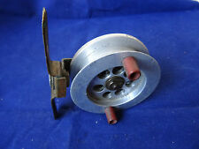 "AN UNUSUAL VINTAGE  2 15/16"" ALLOY SHEFFIELD PATTERN TURNTABLE CENTREPIN REEL"