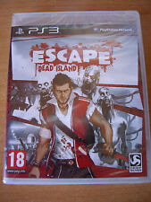 Escape Dead  Island - Ps3 Playstation 3 - Nuevo Precintado - Ed España