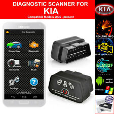FOR KIA OBD II 2 CAR AUTO DIAGNOSTIC CODE SCANNER SCAN TOOL WITH POWER SWITCH
