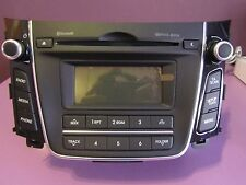 RADIO HYUNDAI I30,CD,MP3,BLUETOOTH,I30 GD (2012-ACTUALIDAD) ORIGINAL OM