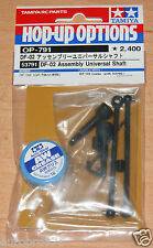 Tamiya 53791 DF-02 Assembly Universal Shaft (DF02/DF03/Gravel Hound/Dark Impact)