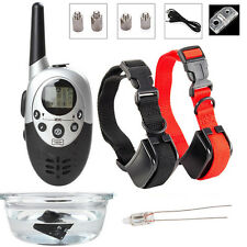 Waterproof Rechargeable Electronic Shock Petsafe Remote 2 Dog Training Collar