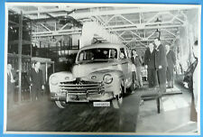 """1946 Ford 1st Off of The Assembly Line  12X18"""" Black & White Picture"""