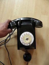 Wall Phone Vintage Art Deco Bakelite TELEPHONE GPO DIAL ANTIQUE RETRO