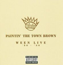 PAINTIN' THE TOWN BROWN: WEEN LIVE '90-'98 [PA] [USED CD]