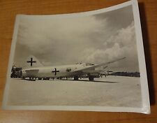 WWII PHOTO JAPANESE BOMBER MARKED SURRENDER AIRPLANE AIRCRAFT