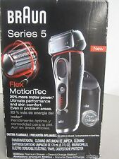 **NEW**  BRAUN SHAVER SERIES 5 FLEX MOTIONTEC 5090CC