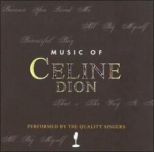 MUSIC OF CELINE DION - THE QUALITY SINGERS!! NEW!!!  NR!!~~~~~~