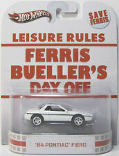 1/64 Hot Wheels Retro Ferris Bueller '84 Pontiac Fiero