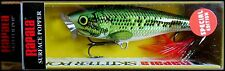 VERY RARE RAPALA  SKITTER POP SP 9 cm in BB (Baby Bass) color (Special Edition)