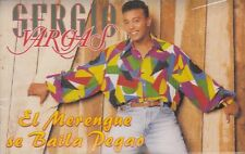 Sergio Vargas El Merengue Se Baila Pegao Cassette New Sealed