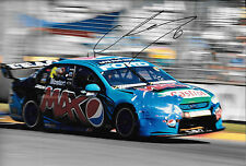 Chaz Mostert firmado 12x8 del FPR Pepsi Max Ford Falcon, Adelaide Clipsal 500 2014