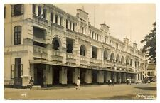 SINGAPORE 1924   FOTO PPC -ADELPHI HOTEL - USED FROM DUTCH INDIES   VF