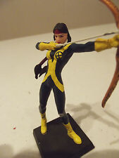 Eaglemoss Marvel Comics New Mutants Dani Moonstar Metal Figurine Black Base