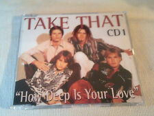 TAKE THAT - HOW DEEP IS YOUR LOVE - UK CD SINGLE - PART 1