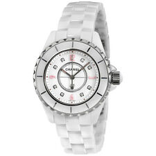 Chanel J12 White Lacquered Dial Ladies Watch H4863