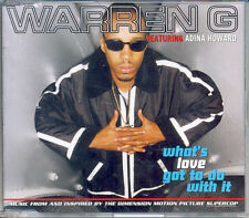 "(LISTEN) WARREN G ""WHAT'S LOVE GOT TO DO WITH IT"" - Single CD (1996)"