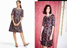 Boden Beatrice Special Occasion Dress Short Sleeve WH705 UK 12P US 8P NWT