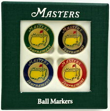 2017 Masters (4) Pack GOLF BALL MARK Marker from AUGUSTA NATIONAL