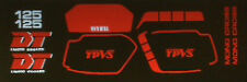 YAMAHA DT125 DT125LC PAINTWORK DECAL SET 4