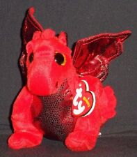 TY Y DDRAIG GOCH the DRAGON BEANIE BABY - UK EXCLUSIVE - 2015 VERSION - MINT TAG