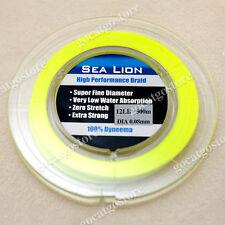 NEW Sea Lion 100% Dyneema Spectra Braid Fishing Line 300M 12lb Yellow