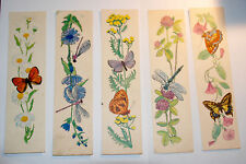 Original Rare Soviet different bookmarks, Set of 5