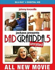Jackass Presents: Bad Grandpa .5 (Blu-ray Disc, 2014)