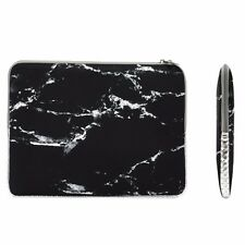"11-Inch Black Marble Zipper Sleeve Bag for 11"" Macbook Air/ Ultrabook/Chromebook"