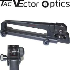 "Vector Optics New 7/8"" 20mm Picatinny AR Carry Handle + Adjustable Sight Steel"
