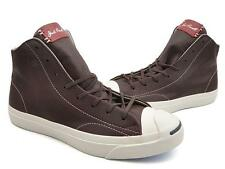 NEW Converse Jack Purcell Jack Mid Tumbled Leather Burnt 151968C US Mens 8.