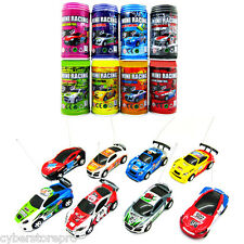 Coke Can Mini 1 : 63 Radio Remote Control Micro Racing Car Toy Kid Gift Colormix