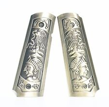 AS666 AIRSOFT TOY WE Carved Patterns Grip Cover For 1911 Sereis